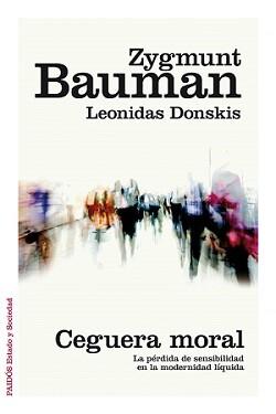 Portada del libro escrito por Zygmunt Bauman y Leonidas Donskis.