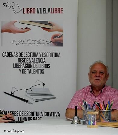 Rafael Solaz durante un momento de la master class.