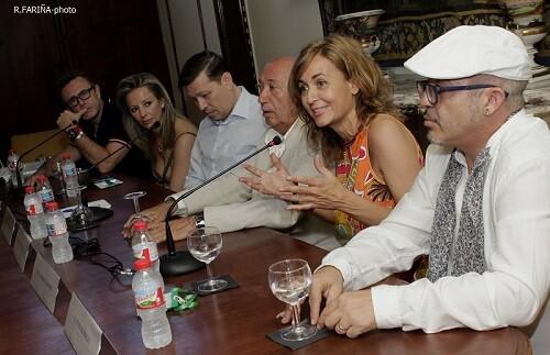 Rueda de Prensa celebrada sobre La Pasarela de las Artes.