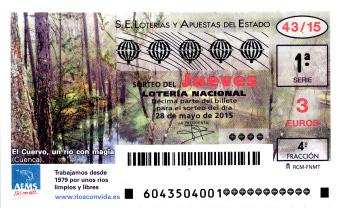 SORTEO DE LOTERíA NACIONAL DEL JUEVES