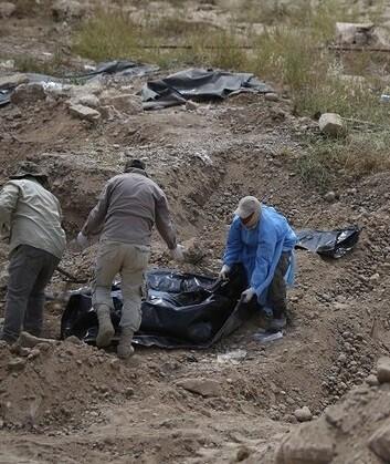 Se presume que pudieron ser masacradas hasta 1.700 personas.
