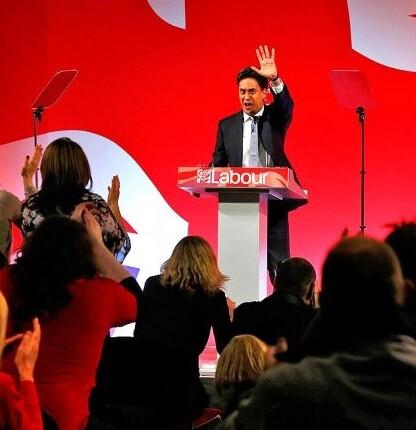 Según las encuentas la votación estaba muy reñida con los laboristas de Ed Miliband.