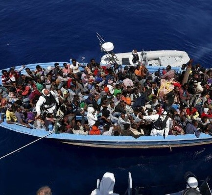 Son 40.000 los demandantes de asilo llegados a Italia y Grecia