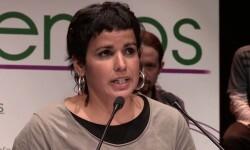 Teresa Rodríguez, diputada andaluza de Podemos.