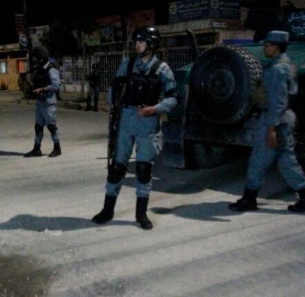 Toda la zona cercana al hotel se encuentra fuertemente vigilada. (Foto-AFP)