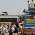 Un autobús de viajeros en Pakistán en una imagen de archivo. (Foto-AFP)