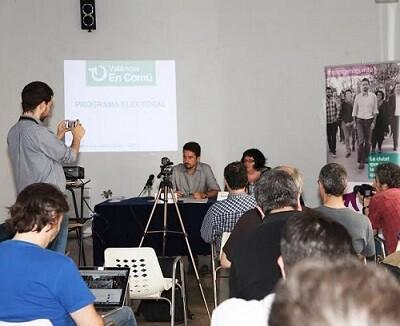 València en Comú presentó su programa electoral.