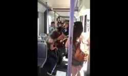 Agresión en el metro de valencia