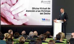 El President de la Generalitat, Alberto Fabra, presentó en su día la primera Oficina Virtual de Atención a las Víctimas de Delito de España. Foto de archivo