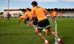 22.05.2015, Entrenamiento Valencia CF en Ciudad Deportiva VCF Paterna, Valencia.