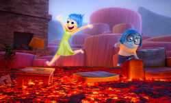 INSIDE OUT –Joy and Sadness navigate through Imagination Land. ©2015 Disney•Pixar. All Rights Reserved.