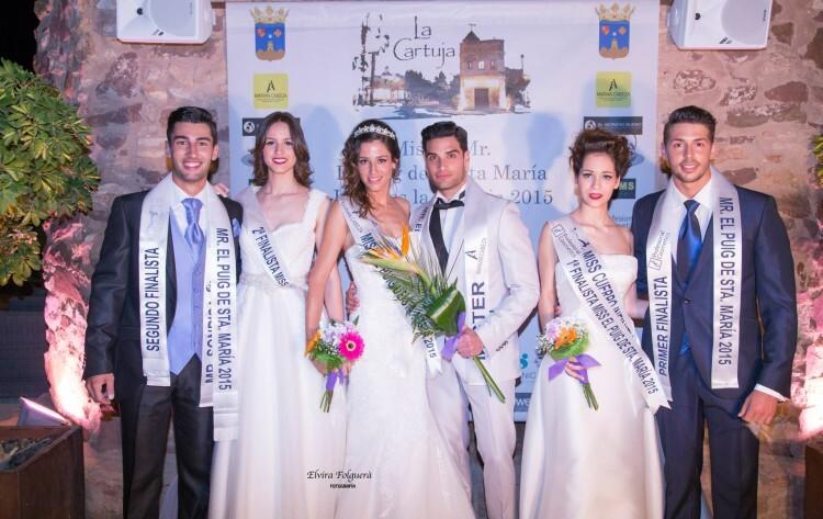 miss & Mister El Puig de santa Maria - Jardines la cartuja 2015