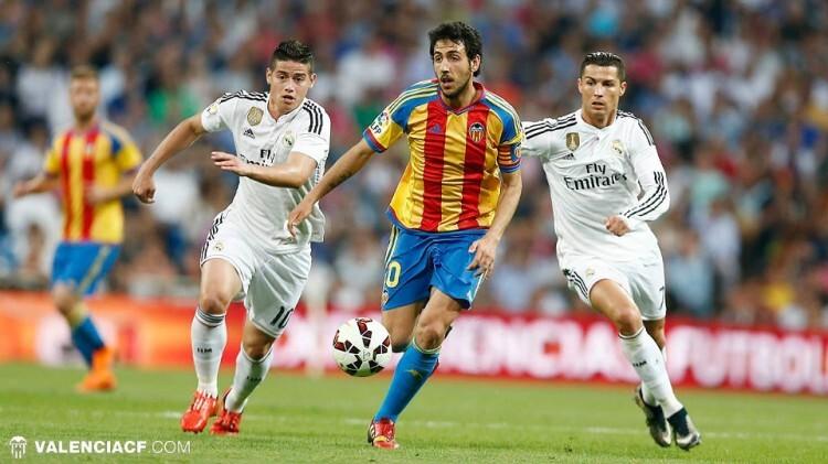 Parejo deja atrás a 200 millones de euros entre James y Cristiano Ronaldo. Cosas del fútbol.