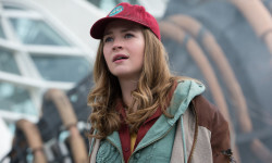 Disney's TOMORROWLAND  Casey (Britt Robertson)  Ph: Kimberley French  ©Disney 2015
