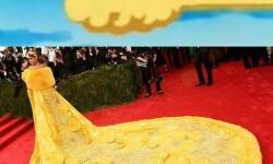 rihanna_amarilla Los mejores Memes del vestido amarillo de Rihanna (4)