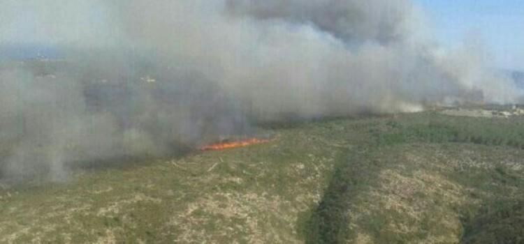 En septiembre de 2014 ya se declaró un incendio que alcanzó el Montgó. Antes de un año después, la historia se repite.