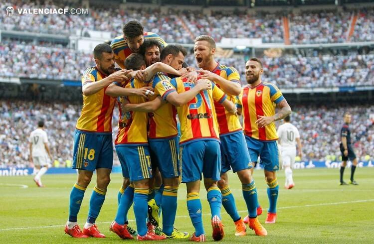 El Valencia CF enmudeció al Bernabéu y por poco acaba con su eterno enemigo en su propio estadio.