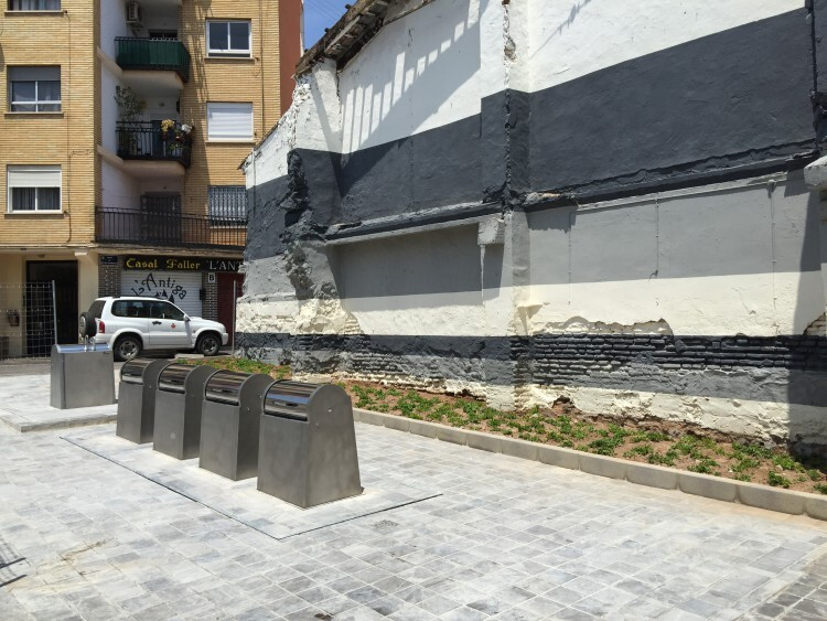 0610.Contenedores soterrados calle Benidorm.1