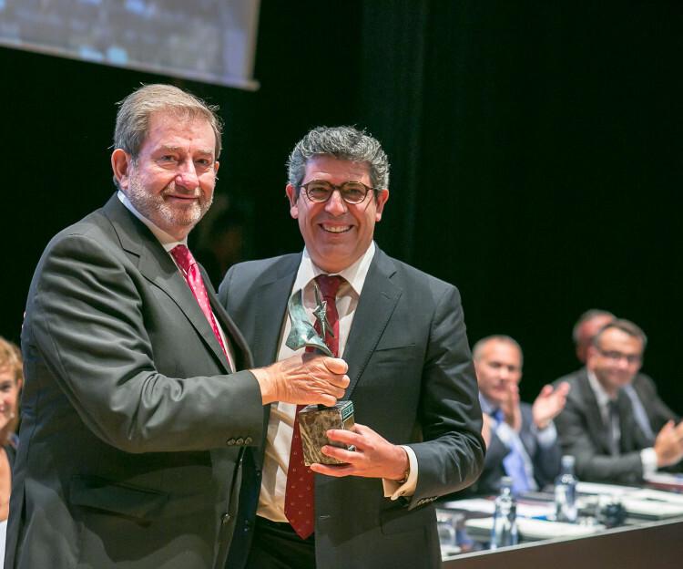 Juan Manuel Baixauli Santaya, Presidente del Grupo Gheisa, Premio Aster de Trayectoria Profesional.