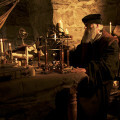 CGI IMAGE: A scene created with reeactments and CGI showing Nostradamus, a famous 16th century prophet.   (Photo Credit: © 360 Production)