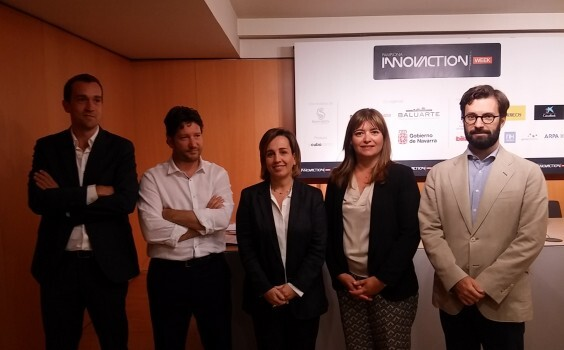 Presentación en Pamplona del evento Pamplona InnovAction Week