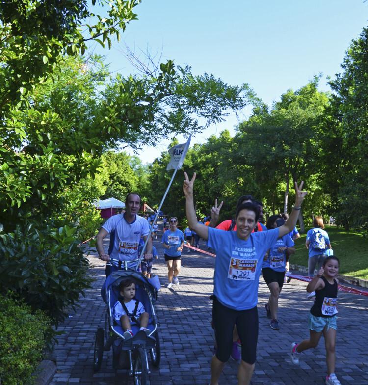 3ª Carrera en Manada BIOPARC Valencia - atravesando el parque