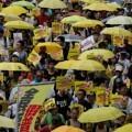 3.500 habitantes de Hong Kong se manifiestan por la democracia