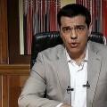 Alexis Tsipras en su discurso televisivo.