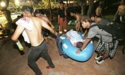 Asciende a 524 el número de heridos por el incendio en un parque acuático de Taiwán (2)