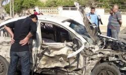 Atentado con coche bomba en Bagdad, en una imagen de archivo.