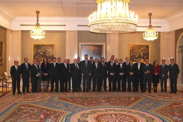 El Rey Felipe VI recibió en audiencia a la FdA