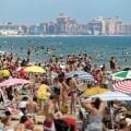 Aumento del número de turistas internacionales en España
