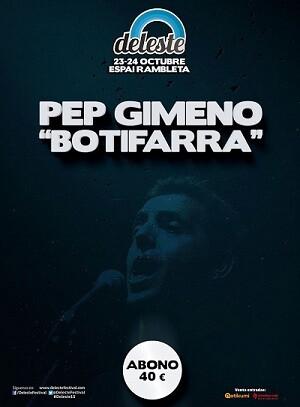 Cartel de certamen donde participa Pep Gimeno ' class=