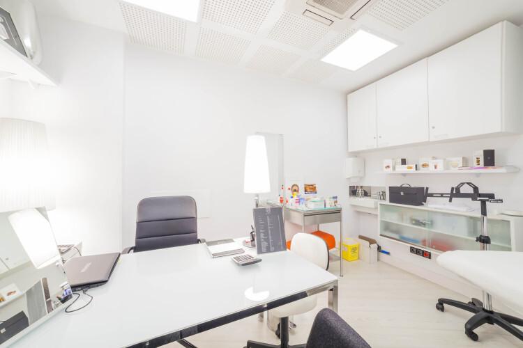 Fotos generales y detalles de la clinica