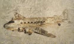 Cuadro de la exposición 'Shangri-La'.