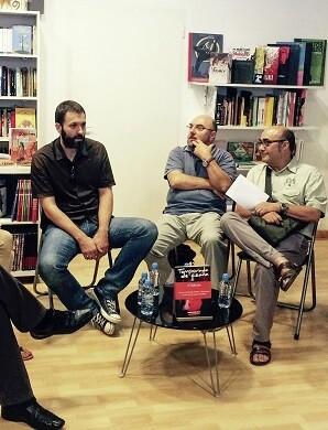 Debate en la librería Bartleby sobre RTVV.