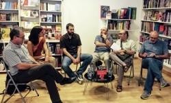 Debate en la librería Bartleby.