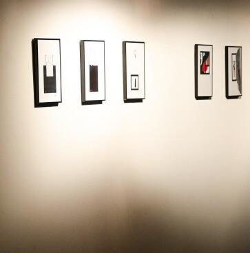 Detalle de algunas de las obras que podrán visitarse en la exposición.
