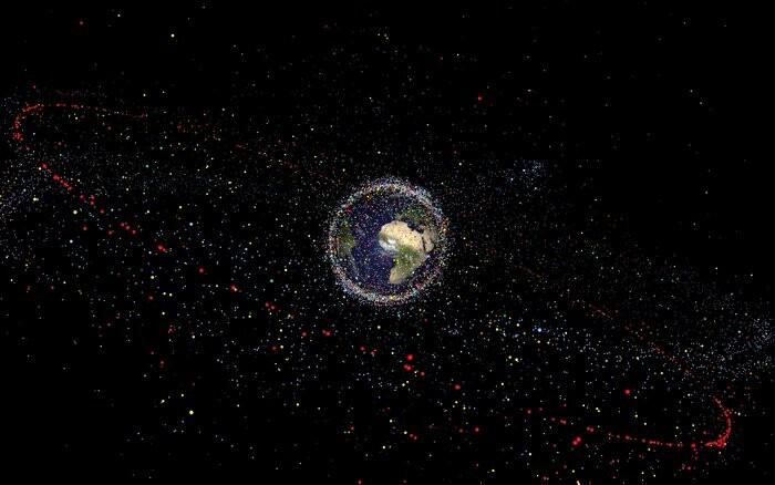 Anillo de basura espacial