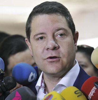 El candidato a la Presidencia de Castilla-La Mancha, Emiliano García-Page.