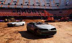 El estadio del Mestalla para la Monster Jam  (11)