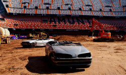 El estadio del Mestalla para la Monster Jam  (12)