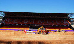 El estadio del Mestalla para la Monster Jam  (14)