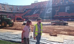 El estadio del Mestalla para la Monster Jam  (3)