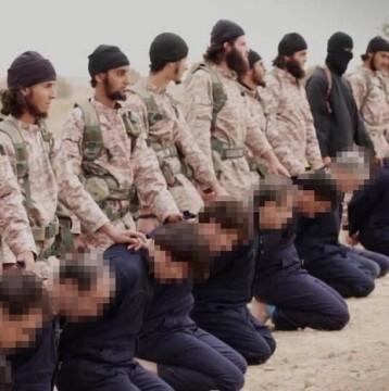 El grupo extremista ejecutó a 3.027 personas entre los cuales se encontraron 1.787 civiles incluso 74 niños (foto AFP)