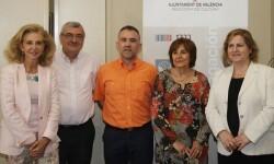 El jurado del premio 'Ciutat de València'.