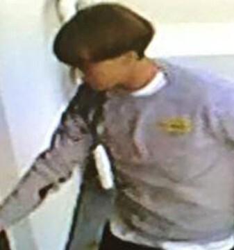 El sospechoso es un hombre de 20 años, con una complexión delgada que llevaba una sudadera gris, jeans y botas.
