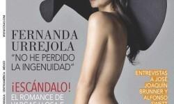 Fernanda Urrejola sorprende con osada portada en revista cosas