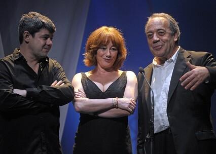 Gracia Querejeta y Antonio Mercero.
