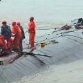 Hundimiento del barco en China.